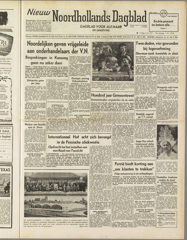Nieuw Noordhollandsch Dagblad : voor Alkmaar en omgeving 1951-07-06