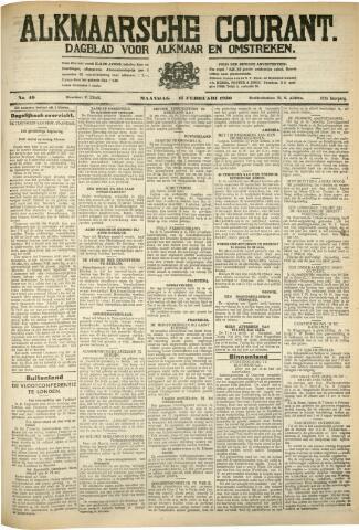 Alkmaarsche Courant 1930-02-17