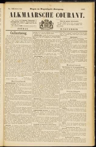 Alkmaarsche Courant 1897-11-28