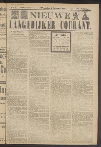 Nieuwe Langedijker Courant 1920-02-04