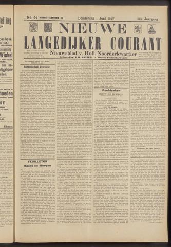 Nieuwe Langedijker Courant 1927-06-02
