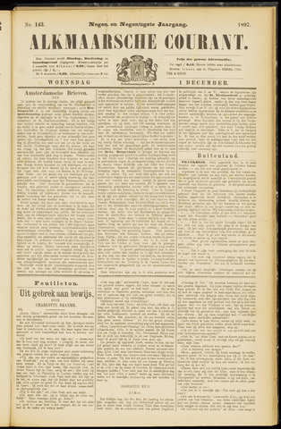 Alkmaarsche Courant 1897-12-01