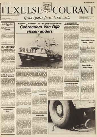 Texelsche Courant 1982-08-10