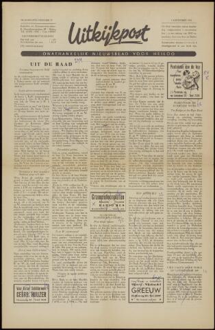 Uitkijkpost : nieuwsblad voor Heiloo e.o. 1958-11-28