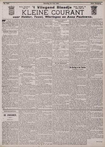 Vliegend blaadje : nieuws- en advertentiebode voor Den Helder 1904-06-25