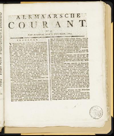 Alkmaarsche Courant 1815-11-20