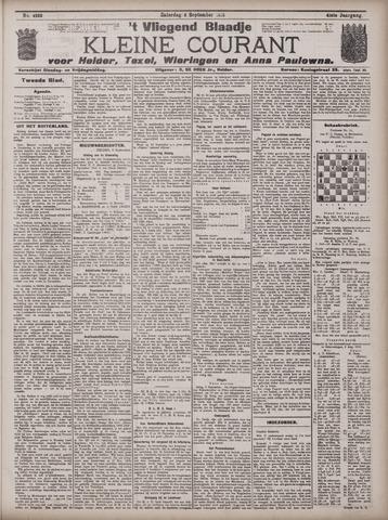 Vliegend blaadje : nieuws- en advertentiebode voor Den Helder 1913-09-06