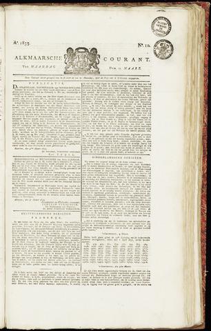 Alkmaarsche Courant 1833-03-11