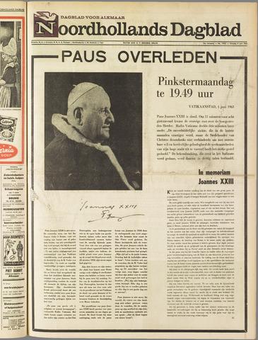 Noordhollands Dagblad : dagblad voor Alkmaar en omgeving 1963-06-04
