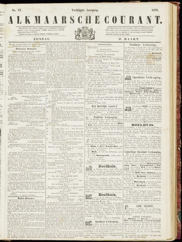 Alkmaarsche Courant 1878-03-31