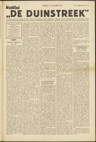 De Duinstreek 1947-11-21