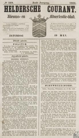 Heldersche Courant 1866-05-19