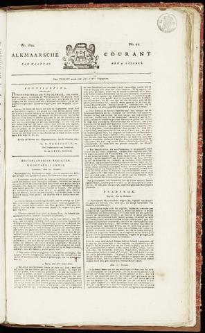 Alkmaarsche Courant 1822-10-21