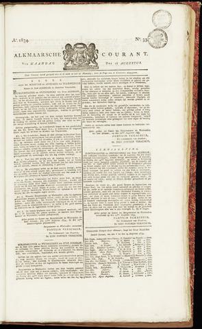 Alkmaarsche Courant 1834-08-18