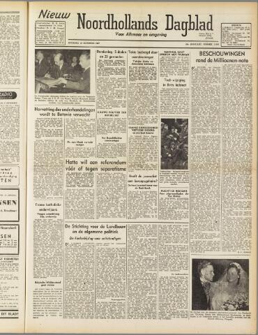 Nieuw Noordhollandsch Dagblad : voor Alkmaar en omgeving 1947-09-20