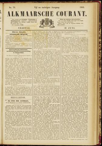 Alkmaarsche Courant 1883-06-22