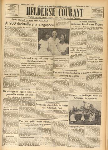 Heldersche Courant 1950-12-13