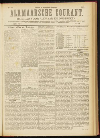 Alkmaarsche Courant 1917-05-01
