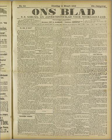 Ons Blad : katholiek nieuwsblad voor N-H 1919-03-11