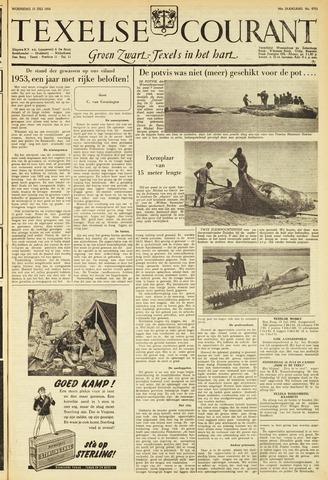 Texelsche Courant 1953-07-15