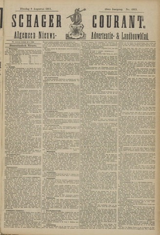Schager Courant 1911-08-08