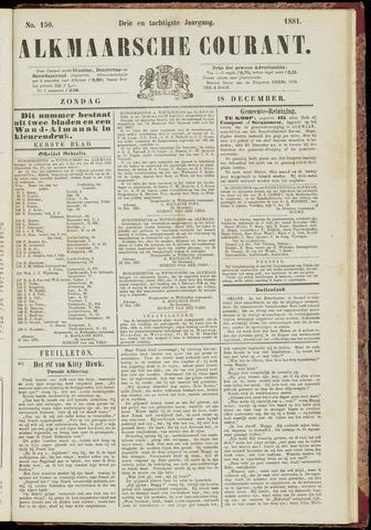 Alkmaarsche Courant 1881-12-18