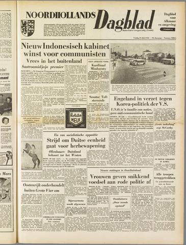 Noordhollands Dagblad : dagblad voor Alkmaar en omgeving 1953-07-31