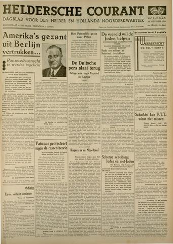 Heldersche Courant 1938-11-16