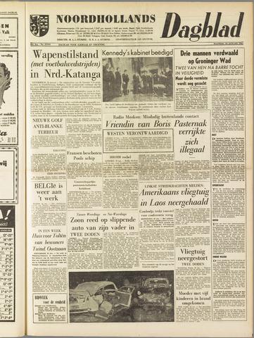 Noordhollands Dagblad : dagblad voor Alkmaar en omgeving 1961-01-23
