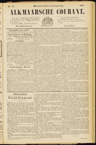 Alkmaarsche Courant 1898-06-22