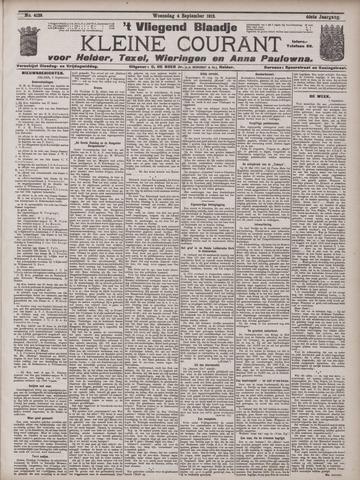 Vliegend blaadje : nieuws- en advertentiebode voor Den Helder 1912-09-04