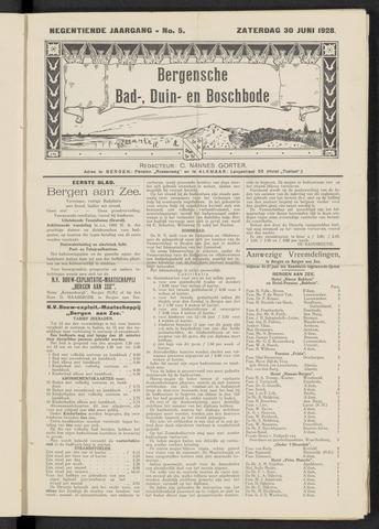 Bergensche bad-, duin- en boschbode 1928-06-30
