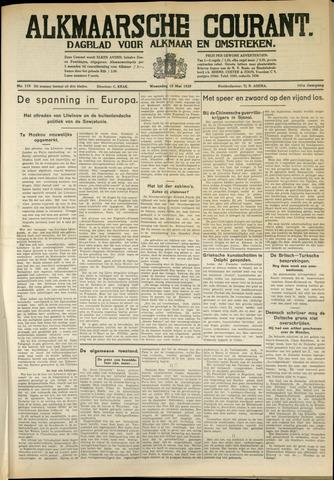 Alkmaarsche Courant 1939-05-10