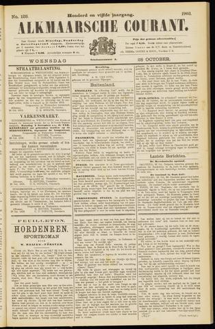 Alkmaarsche Courant 1903-10-28