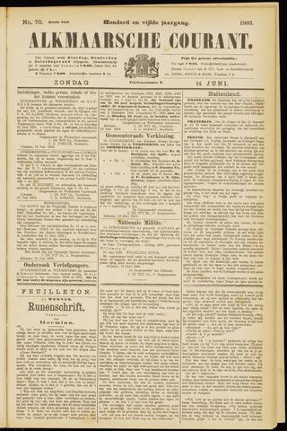Alkmaarsche Courant 1903-06-14
