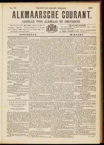 Alkmaarsche Courant 1907-03-28