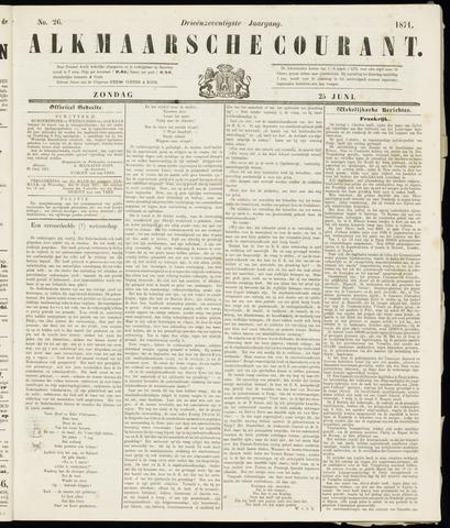 Alkmaarsche Courant 1871-06-25