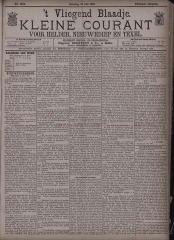 Vliegend blaadje : nieuws- en advertentiebode voor Den Helder 1887-07-16