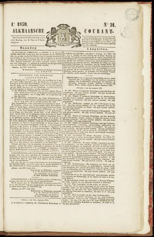 Alkmaarsche Courant 1850-08-05