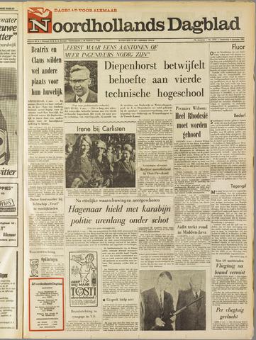 Noordhollands Dagblad : dagblad voor Alkmaar en omgeving 1965-11-04