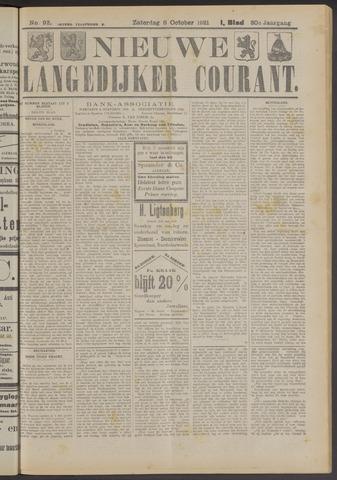 Nieuwe Langedijker Courant 1921-10-08