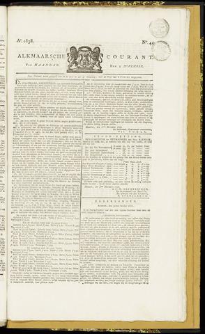 Alkmaarsche Courant 1838-11-05