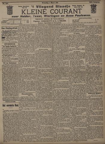 Vliegend blaadje : nieuws- en advertentiebode voor Den Helder 1908-03-04