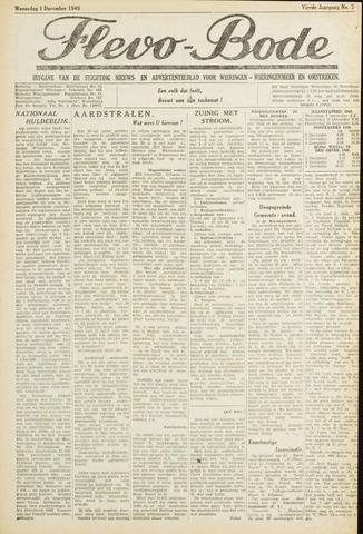 Flevo-bode: nieuwsblad voor Wieringen-Wieringermeer 1948-12-01
