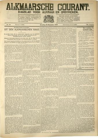 Alkmaarsche Courant 1933-11-21