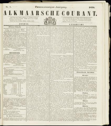 Alkmaarsche Courant 1870-02-06