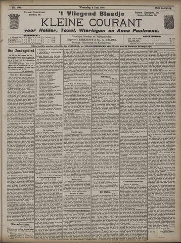 Vliegend blaadje : nieuws- en advertentiebode voor Den Helder 1909-06-02
