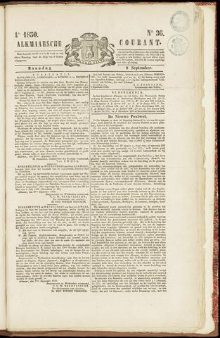 Alkmaarsche Courant 1850-09-09