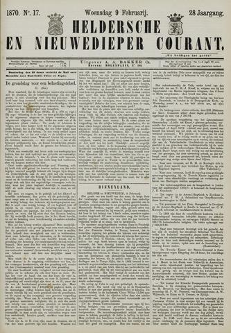 Heldersche en Nieuwedieper Courant 1870-02-09