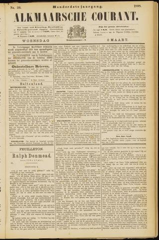 Alkmaarsche Courant 1898-03-02